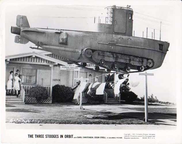 Three Stooges In Orbit - trailer par supersizeme31