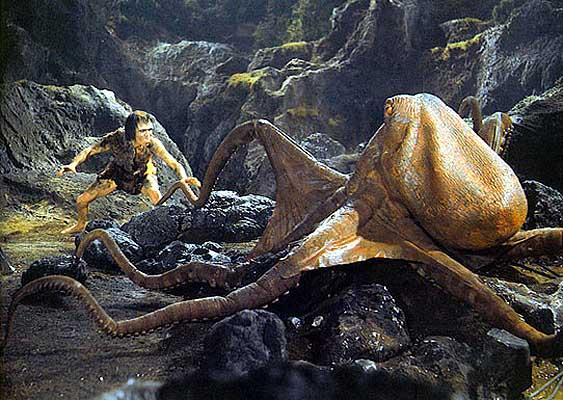 Giant Devilfish Octopus Devil Fish aka Oodako