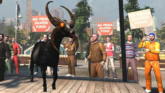 goat simulator how to change goat