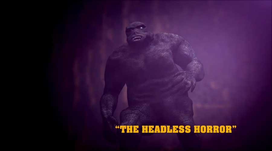 Grafton Monster Headless Horror