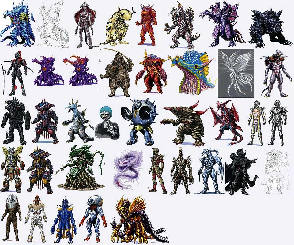 de la s  233 rie Ultraman Mebius  All the Ultraman Mebius monstersUltraman Monsters List