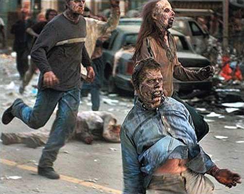 Zombieland Zombies Gif