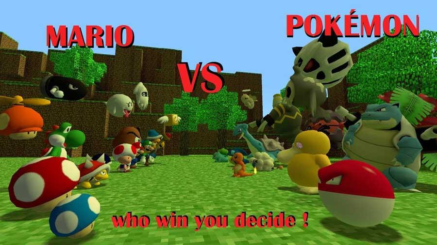 Mario Vs Pokemon